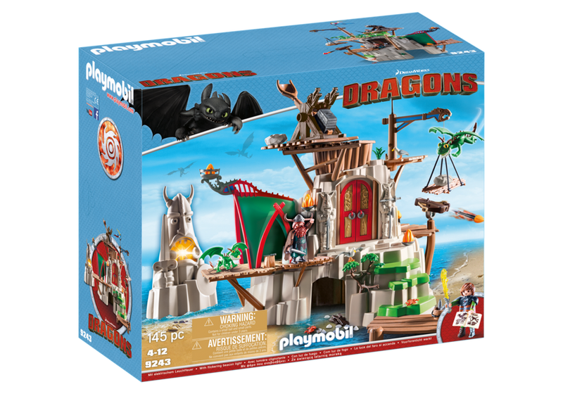 Playmobil - DreamWorks Dragons: Berk Fortress