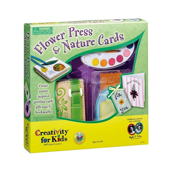 Creativity For Kids Flower Press And Nature Cards - 1241