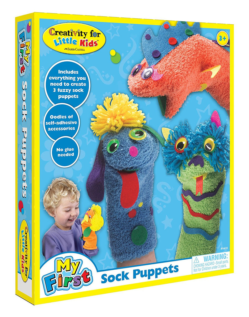 Creativity For Kids My First Sock Puppets - 1616