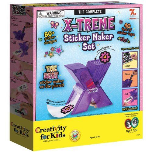 Creativity For Kids The Complete X-Treme Sticker Maker Set - 1686