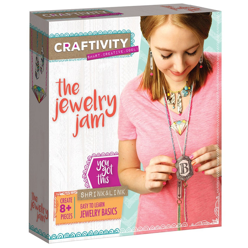 Creativity For Kids Craftivity The Jewelry Jam - 3501000