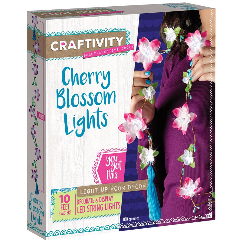 Creativity for Kids - 3510000 | Craftivity: Cherry Blossom Lights
