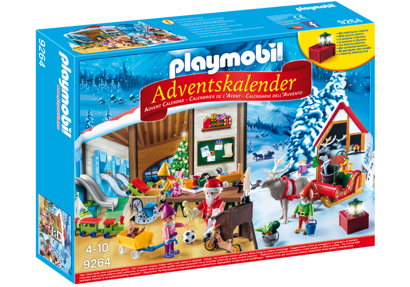 Playmobil - 9264 | Santa's Workshop Advent Calendar 2017