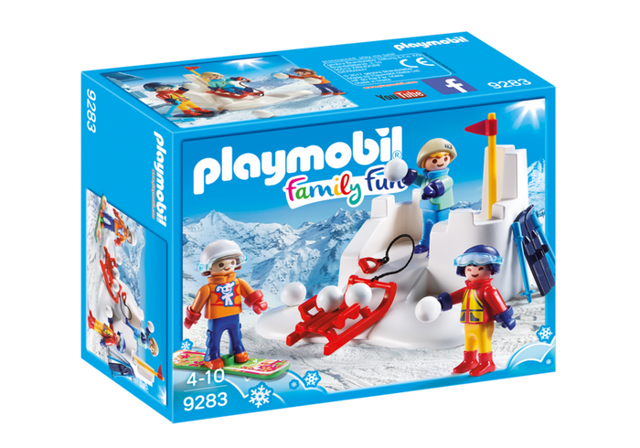 Playmobil - 9283 | Family Fun: Snowball Fight