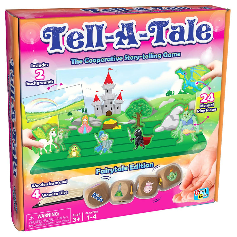 Getta 1 Games - GT-4144 | Tell-A-Tale: The Cooperative Story-Telling Game, Fairytale Edition