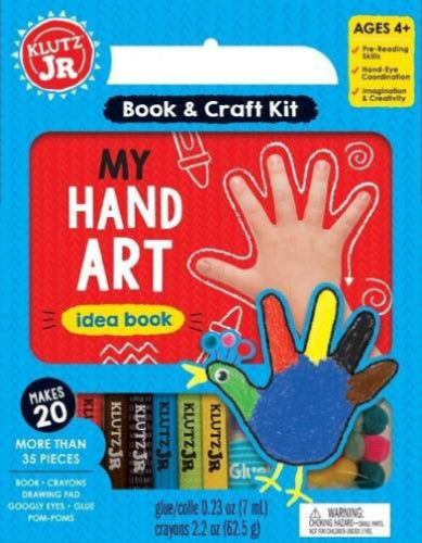 Klutz - Jr: My Hand Art Book & Craft Kit