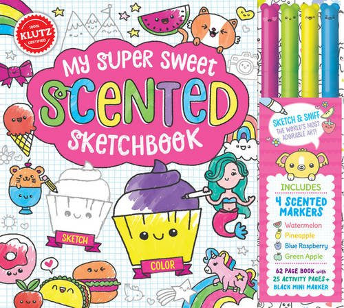 Klutz - 1338106384 | My Super Sweet Scented Sketchbook