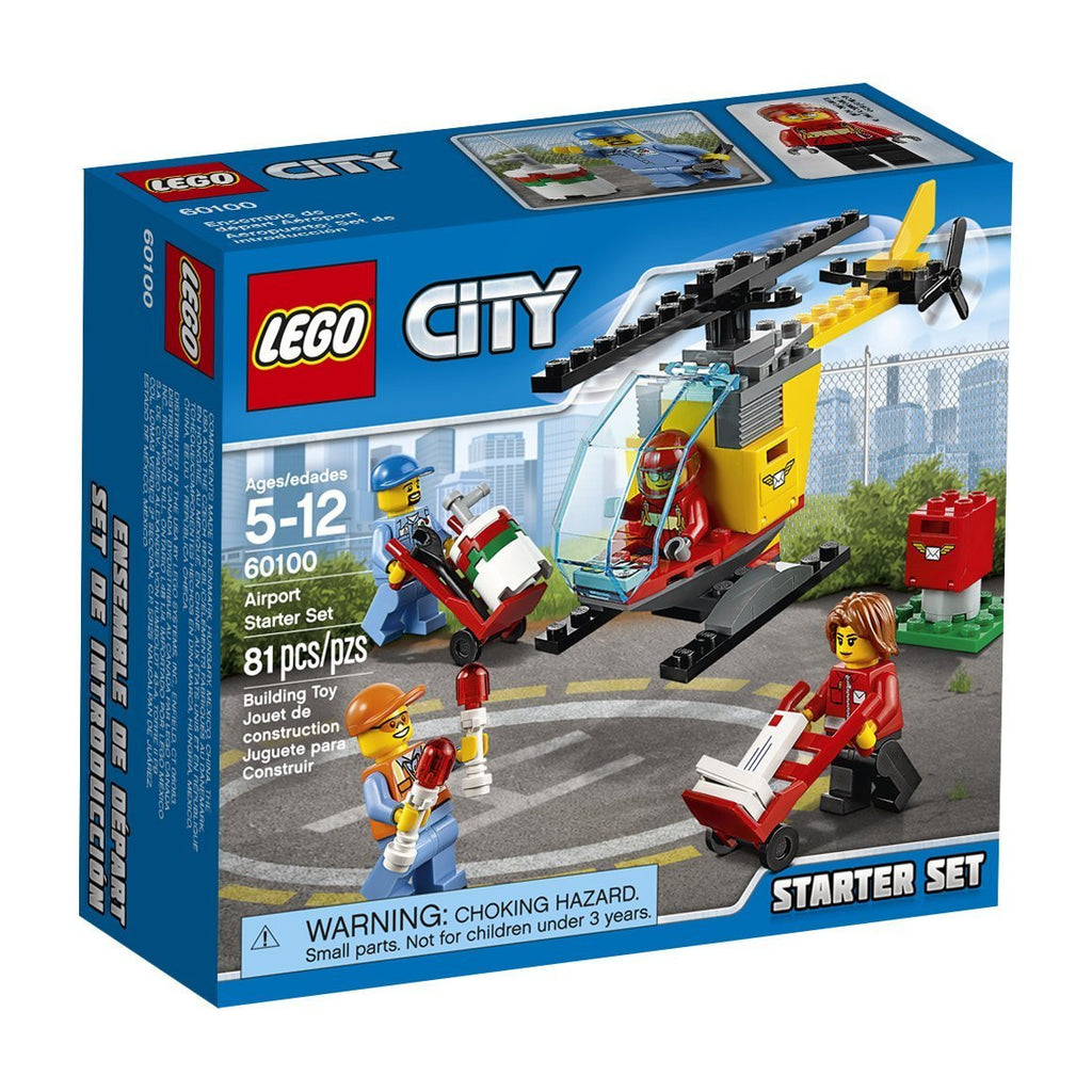 Lego Page 4 Castle Toys 10720 Juniors Police Helicopter Chase 60100 Airport Starter Set