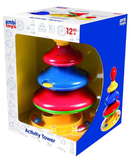 Ambi Toys - 31136Ambi Toys - 31136 | 4-Tier Stacking Activity Tower