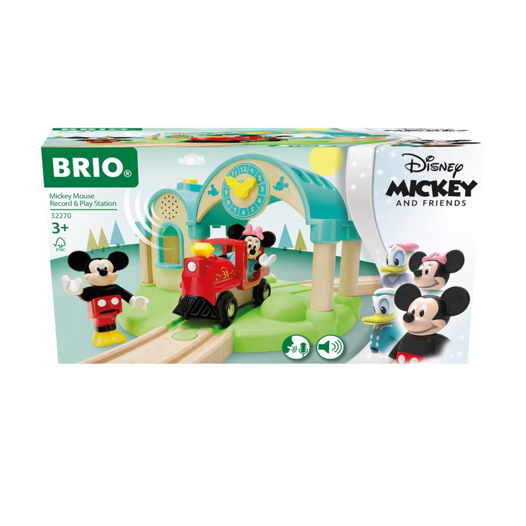 BRIO - 32270 | Mickey Mouse Train Station