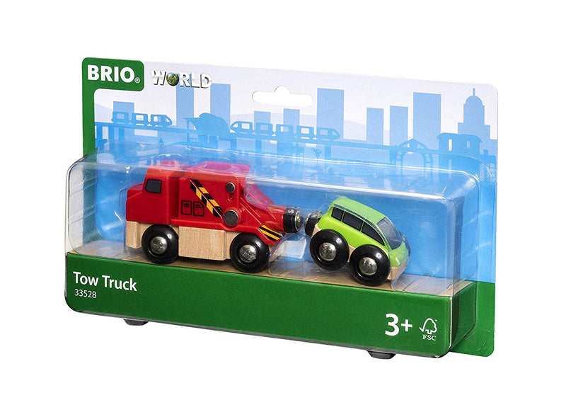 BRIO - 33528 | Tow Truck And Car