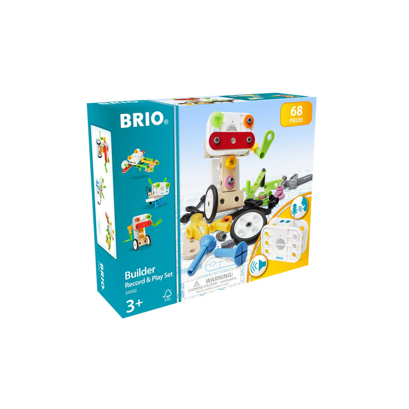 BRIO - 34592 | Builder Record & Play