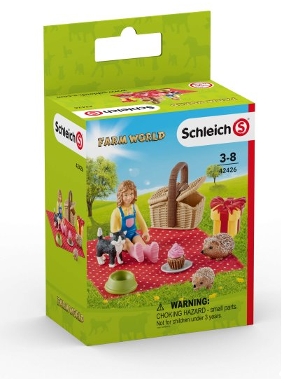 Schleich - 42426 | Farm World: Birthday Picnic