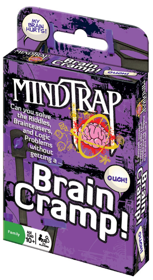 Outset Media - 37056 | Mindtrap: Brain Cramp Card Game