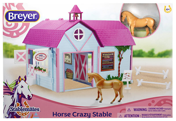 Breyer - 59193 | Stablemates: Horse Crazy Stable