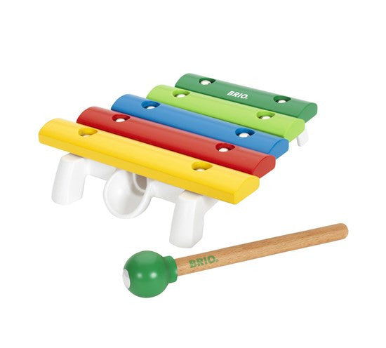 Brio Wooden Rainbow Musical Xylophone - 30182