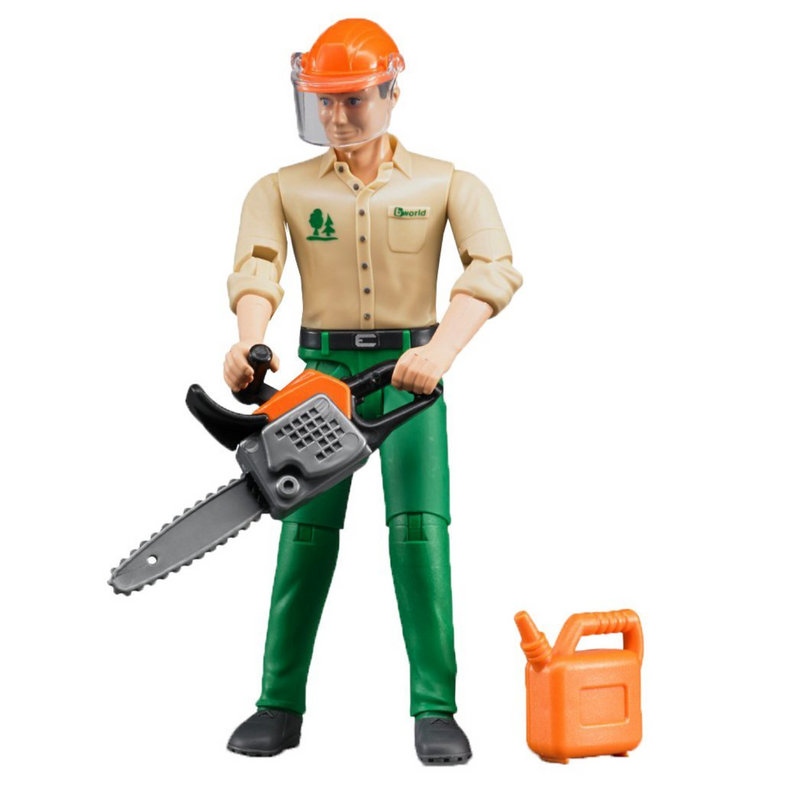 Bruder - 60030 | Logging Man with Accessories