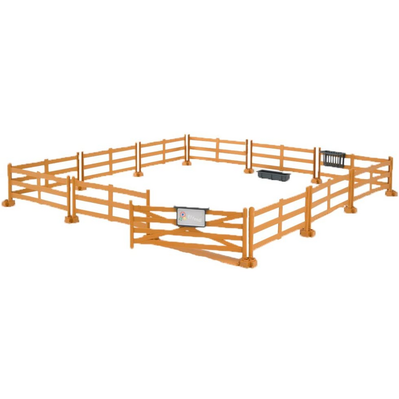 Bruder - 62604 | Leisure Time: Pasture Fence Brown