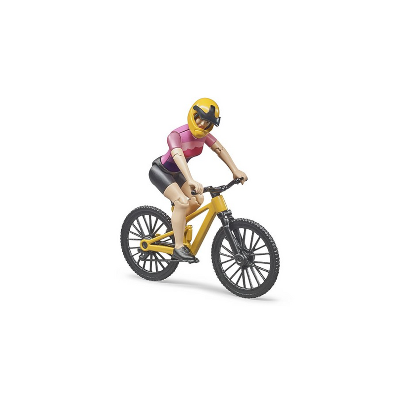 Bruder - 63111 | Bworld: Mountain Bike with Female Cyclist