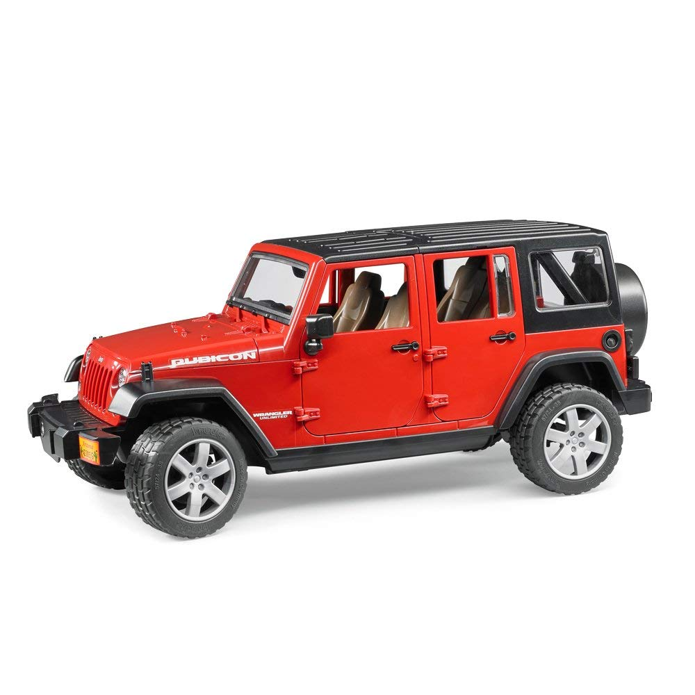 Bruder - 02525 | Leisure Time: JEEP Wrangler Unlimited Rubicon