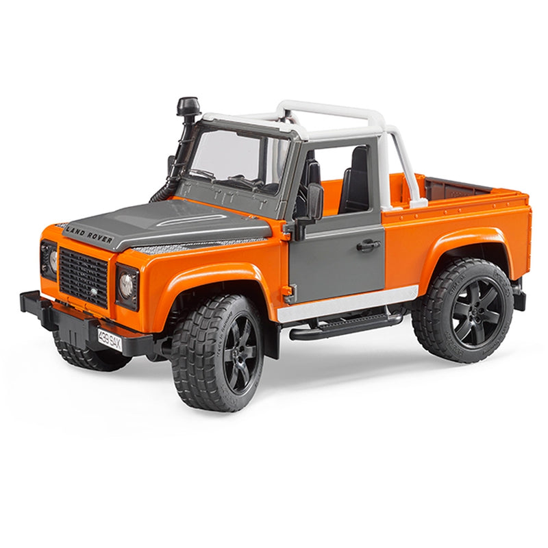 Bruder - 02591 | Leisure Time: Land Rover Defender Pick Up
