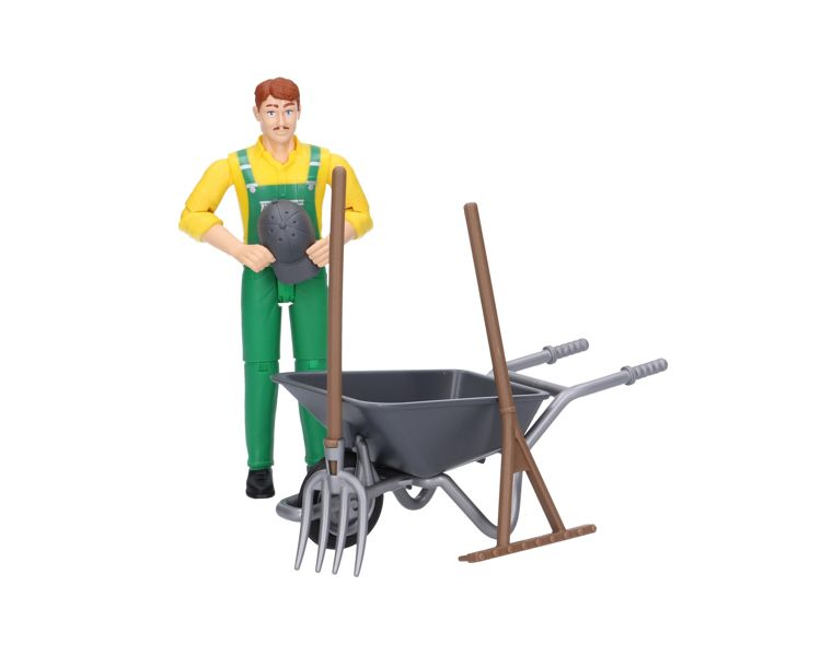 Bruder - 62610 | Bworld: Figure Set - Farmer