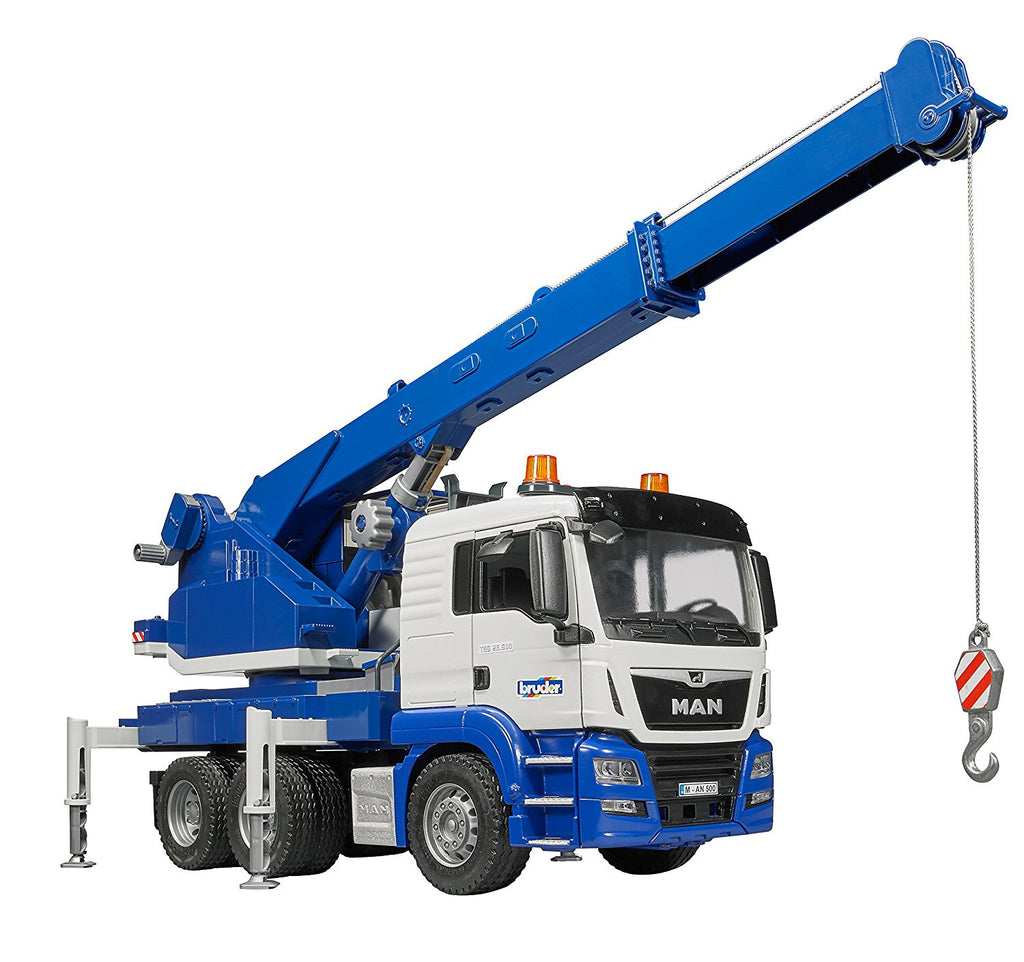 Bruder MAN TGS Crane Truck with Light & Sound - 03770