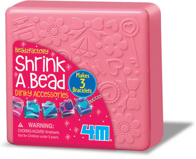 4M - 00-04698 | Shrink A Bead: Shrink Art Dinky Beads Make Jewellery