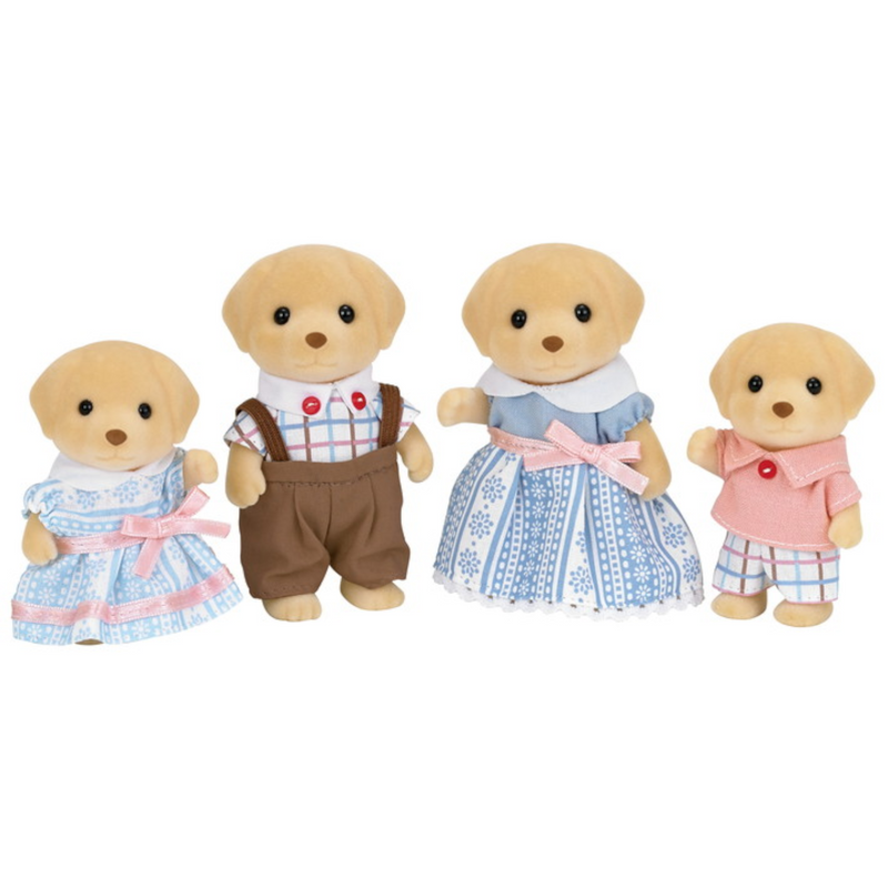 Calico Critters - CC2018 | Yellow Labrador Family Set