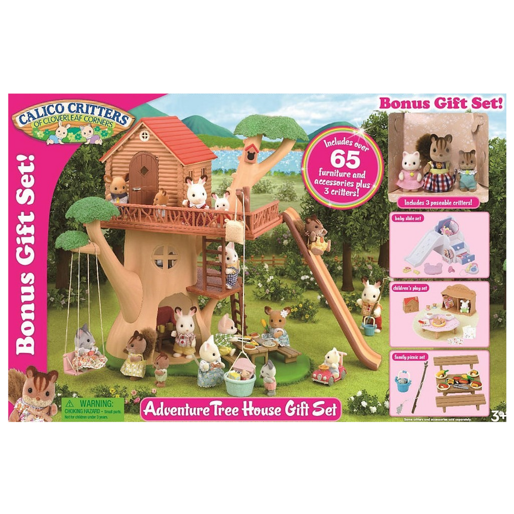 Calico Critters - CC2067 | Adventure Treehouse Gift Set