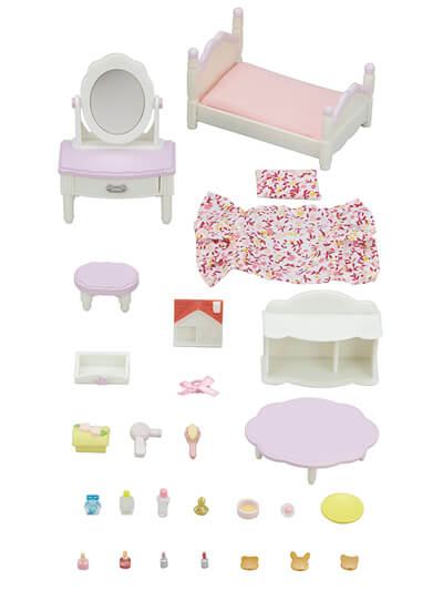 Calico Critters - CC1747 | Bedroom and Vanity Set