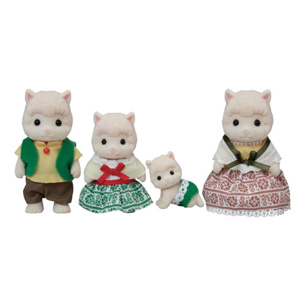 Calico Critters - CC1803 | Wooly Alpaca Family