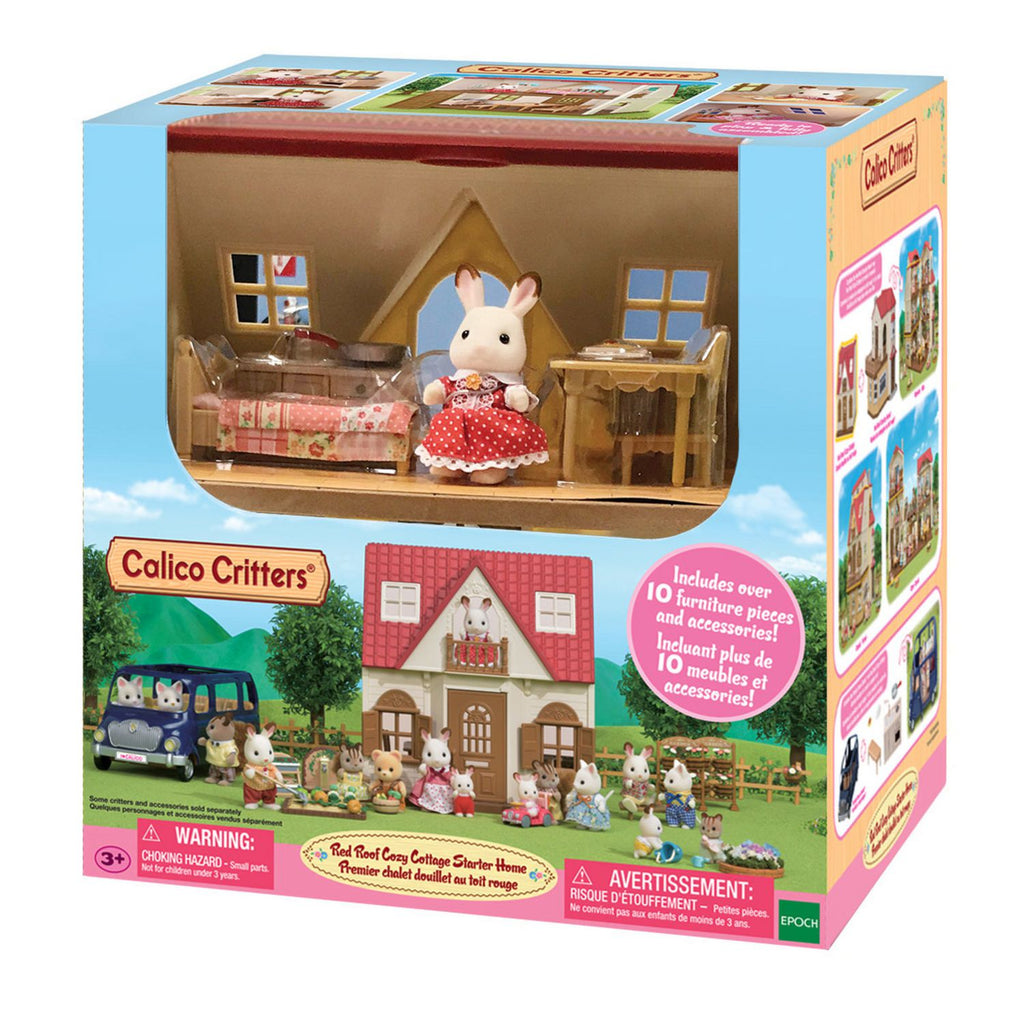Calico Critters - CF1798 | Red Roof Cozy Cottage