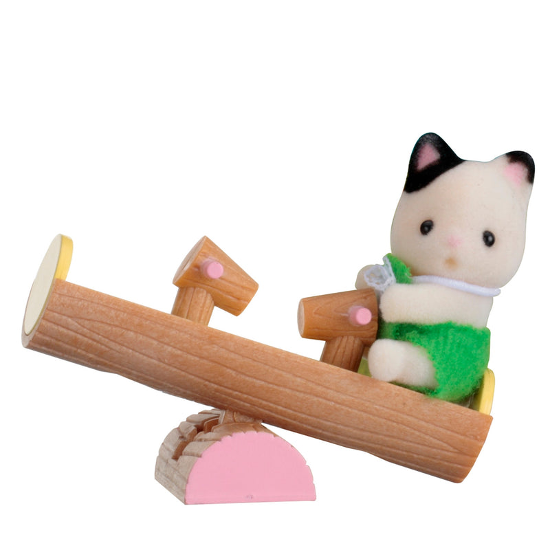Calico Critters - CF1878 | Seesaw Mini Carry Case