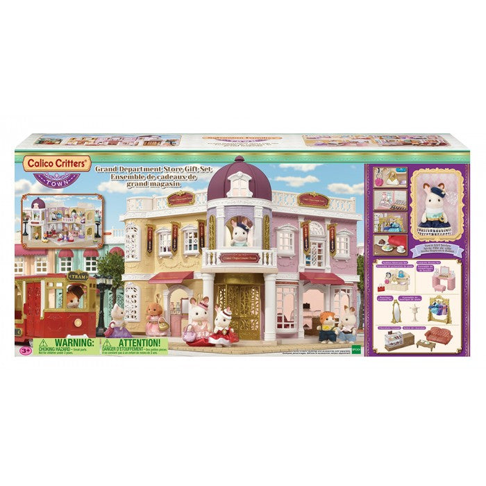 Calico Critters - CF3011 | Town Series: Grand Department Store Gift Set