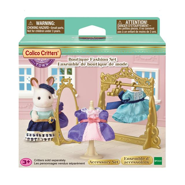 Calico Critters - CF3018 | Town Series: Boutique Fashion Set