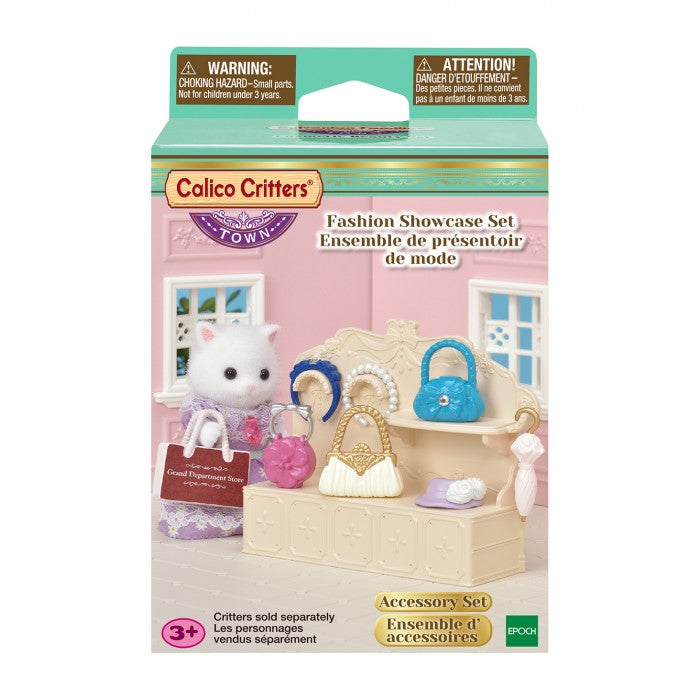 Calico Critters - CF3020 | Town Girl Series: Fashion Showcase Set