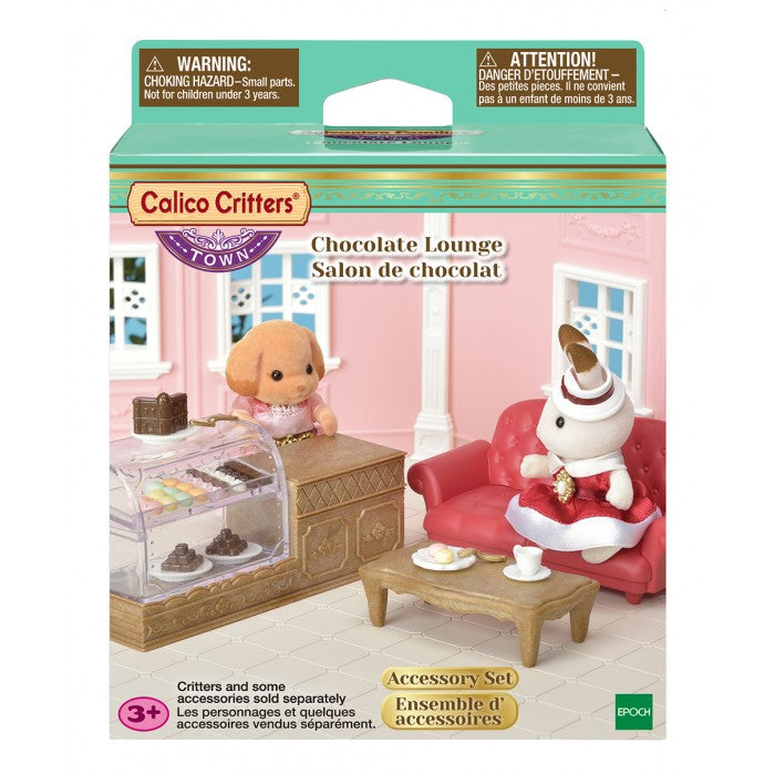 Calico Critters - CF3021 | Town Girl Series: Chocolate Lounge
