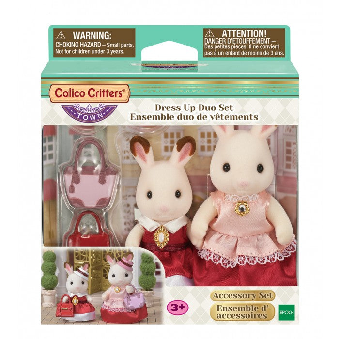 Calico Critters - CF3022 | Town Series: Dress Up Duo Set