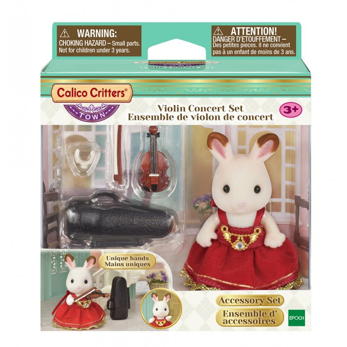 Calico Critters - CF3023 | Town Series: Violin Concert Set