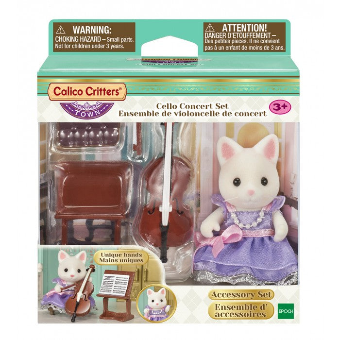 Calico Critters - CF3024 | Town Series: Cello Concert Set