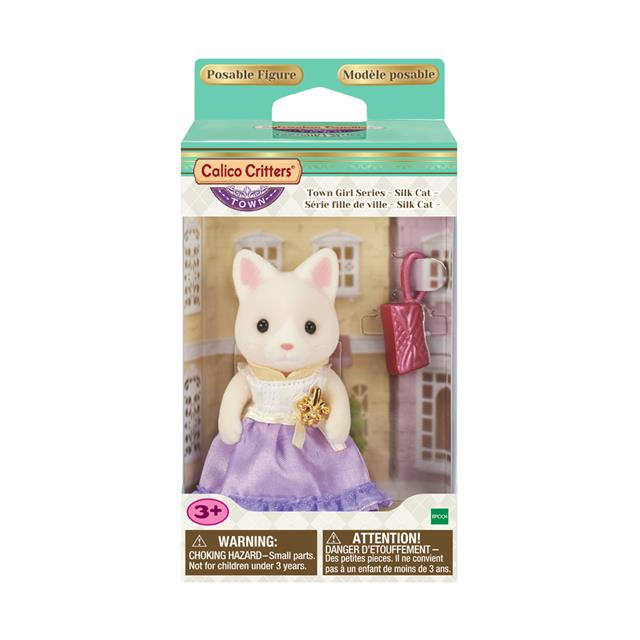 Calico Critters - CF3027 | Town Girl Series: Silk Cat