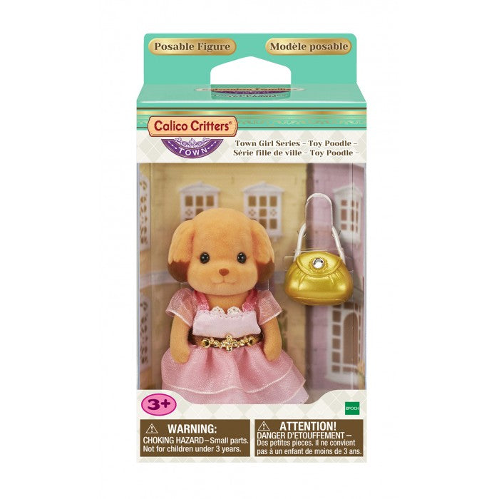 Calico Critters - CF3028 | Town Girl Series: Toy Poodle