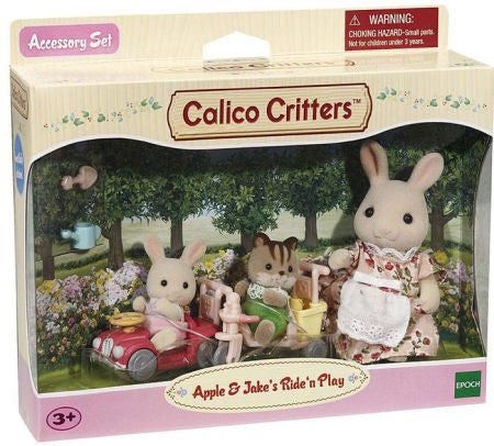 Calico Critters - CC2771 | Apple & Jake's Ride N Play