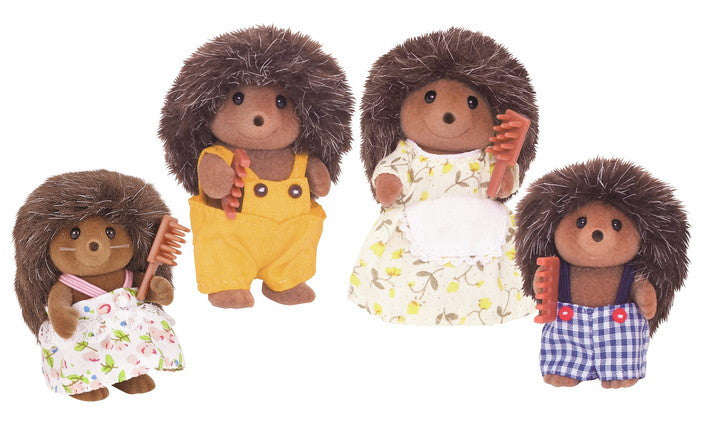 Calico Critters Hedgehog Family 1923