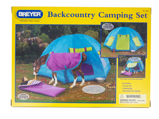 Breyer - 1380 | Traditional: Backcountry Camping Set