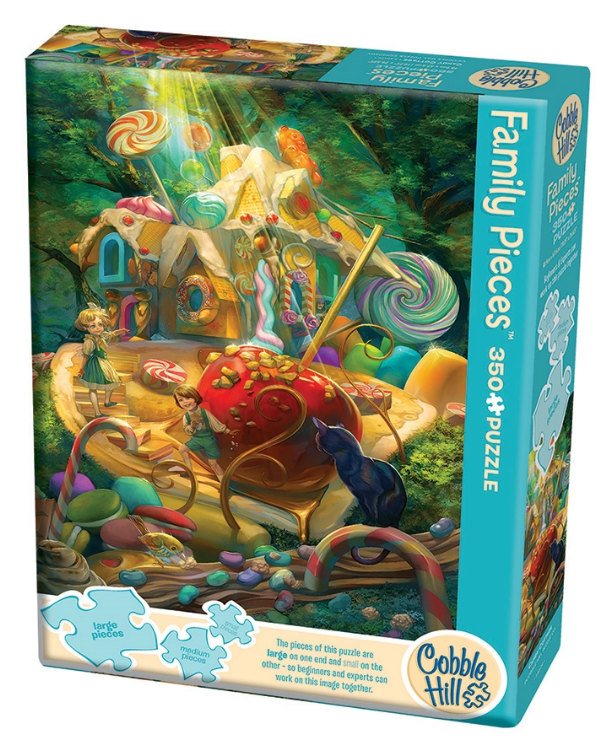 Cobble Hill - 54609 | Candy Cottage - 350 PC Family Puzzle