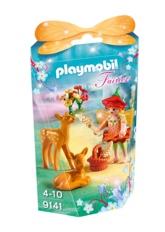Playmobil - 9141 | Fairies: Fairy Girl With Fawns