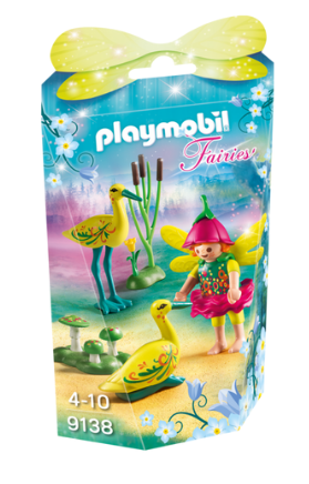 Playmobil - 9138 | Fairies: Fairy Girl With Storks