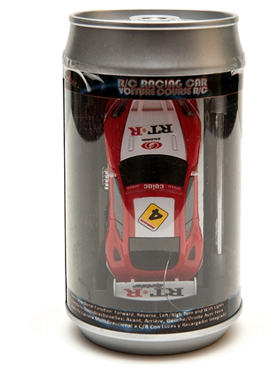 Relaxus - L99121 | Cobra Mini R/C Race Car in a Can: asssorted